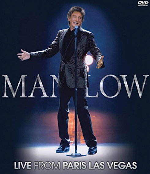 Barry Manilow: Live From Paris Las Vegas cover