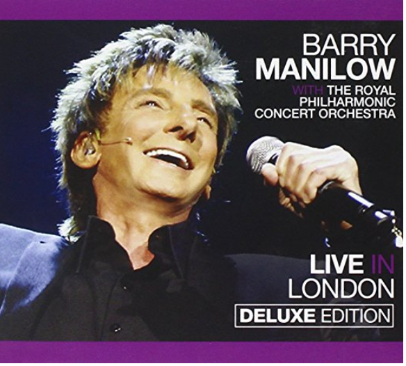 Barry Manilow: Live in London cover