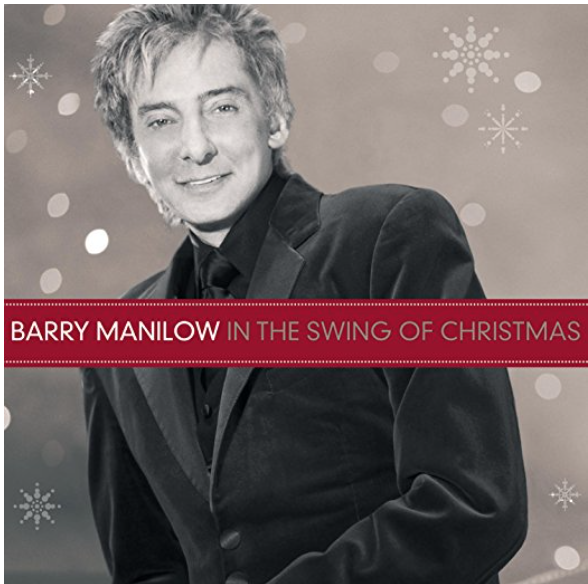 Barry Manilow – In The Swing Of Christmas cover